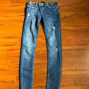 ZARA Trafaluc Denimwear Embrace Silhouette Jeans 4